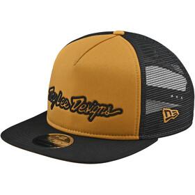 Troy Lee Designs Signature Snapback Cap beige/gelb